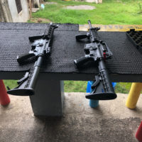 Assault rifle shooting range